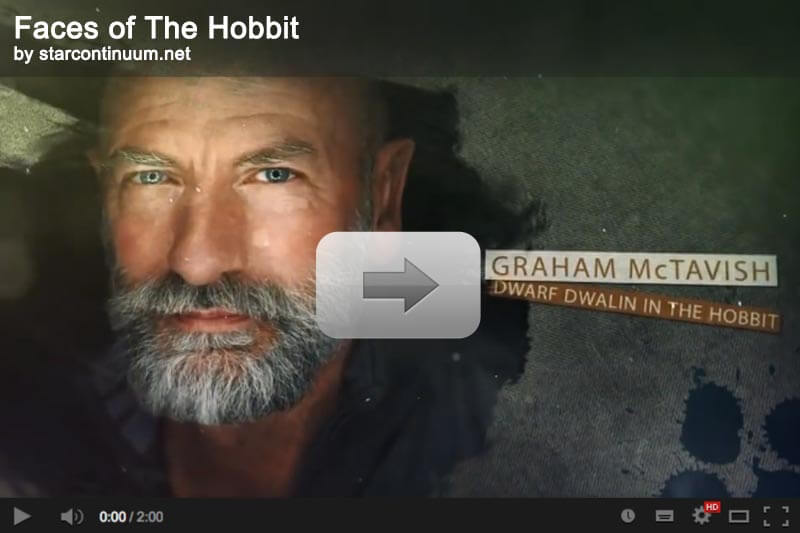 starcontinuum.net | Videoclip: Faces of The Hobbit